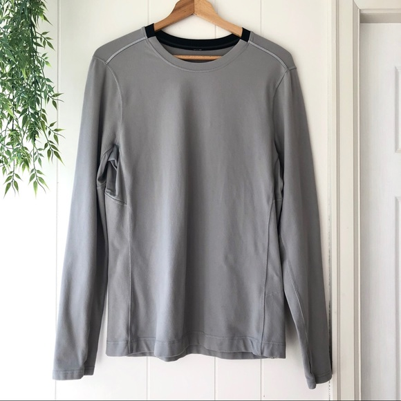 Men's Lululemon Grey Crew Neck Pullover Large